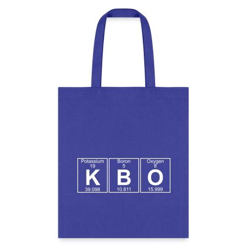 K-B-O (kbo) - Full - Tote Bag
