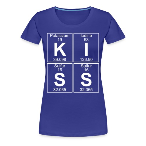 K-I-S-S (kiss) - Full - Women's Premium T-Shirt