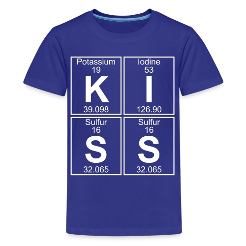 K-I-S-S (kiss) - Full - Kids' Premium T-Shirt