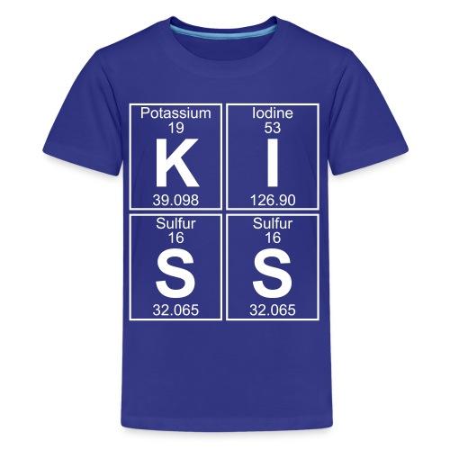 K-I-S-S (kiss) - Full - Kids' Premium T-Shirt