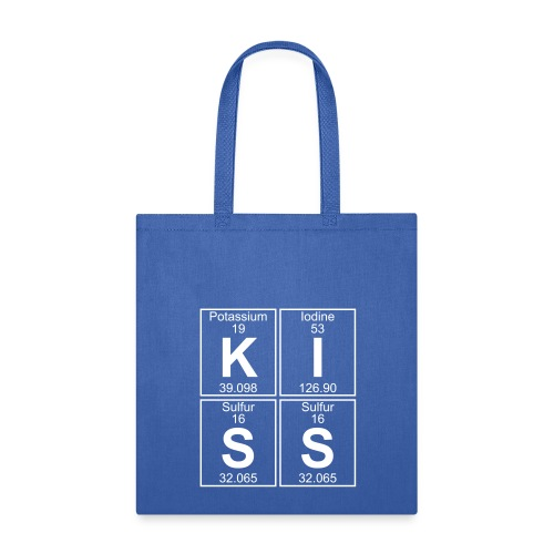 K-I-S-S (kiss) - Full - Tote Bag