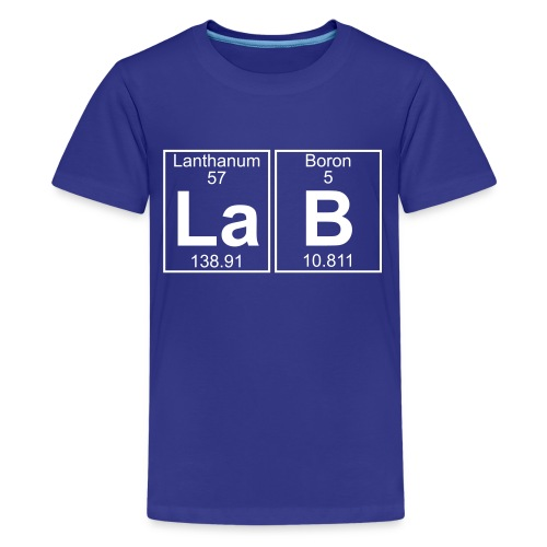 La-B (lab) - Full - Kids' Premium T-Shirt