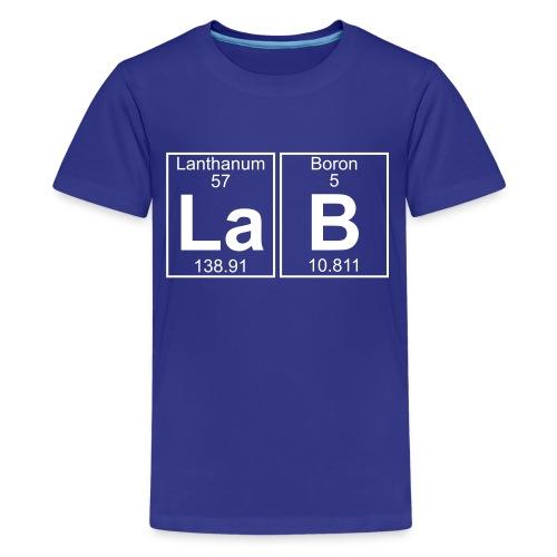 La-B (lab) - Full - Kids' Premium T-Shirt
