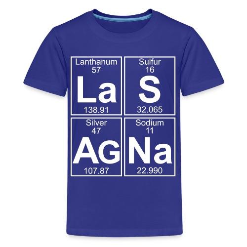 La-S-Ag-Na (lasagna) - Full - Kids' Premium T-Shirt