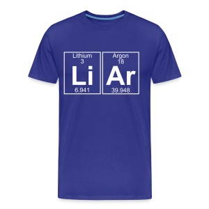 Li-Ar (liar) - Full - Men's Premium T-Shirt