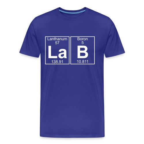 La-B (lab) - Full - Men's Premium T-Shirt