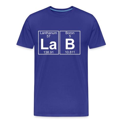 La-B (lab) - Full - Men's Premium T-Shirt