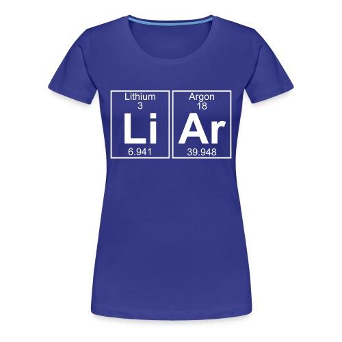Li-Ar (liar) - Full - Women's Premium T-Shirt