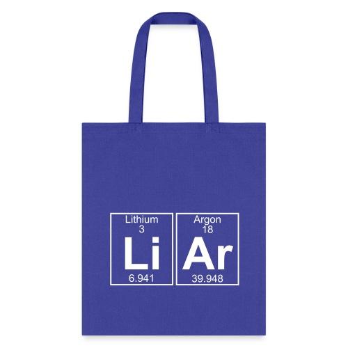 Li-Ar (liar) - Full - Tote Bag