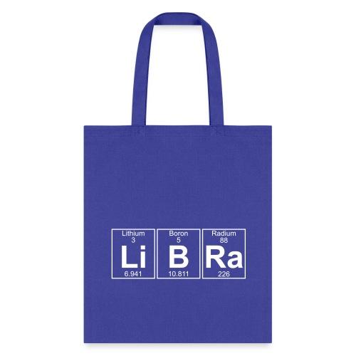 Li-B-Ra (libra) - Full - Tote Bag