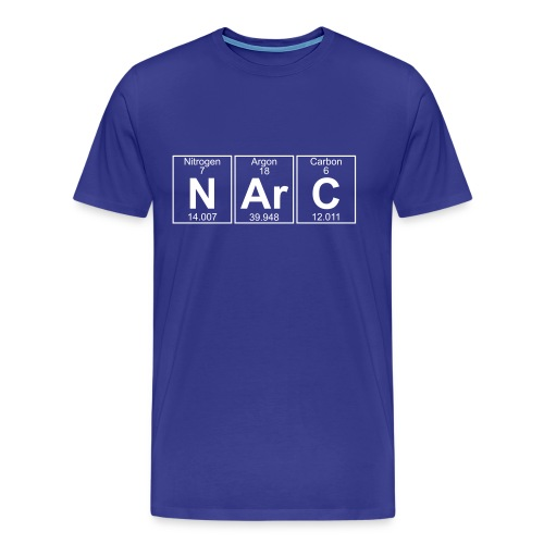 N-Ar-C (narc) - Full - Men's Premium T-Shirt