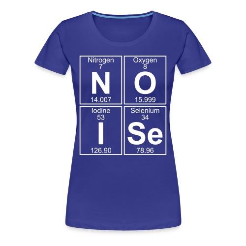 N-O-I-Se (noise) - Full - Women's Premium T-Shirt