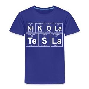 Ni-K-O-La Te-S-La (nikola_tesla) - Full - Toddler Premium T-Shirt