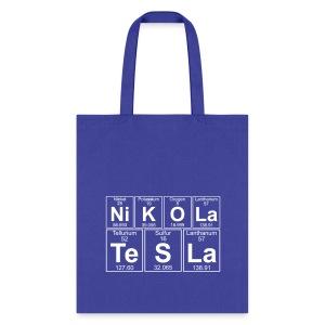 Ni-K-O-La Te-S-La (nikola_tesla) - Full - Tote Bag