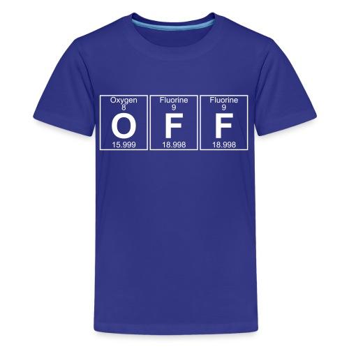 O-F-F (off) - Full - Kids' Premium T-Shirt