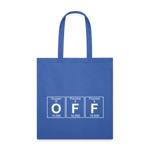 O-F-F (off) - Full - Tote Bag