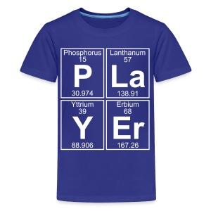 P-La-Y-Er (player) - Full - Kids' Premium T-Shirt