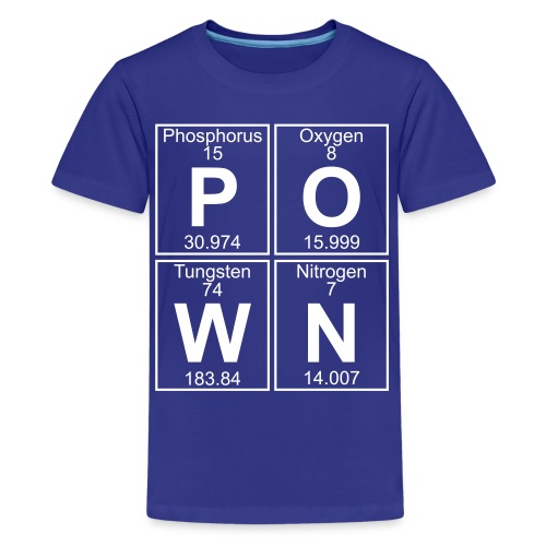 P-O-W-N (pown) - Full - Kids' Premium T-Shirt