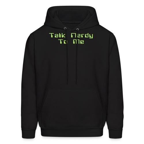 Talk Nerdy To Me Hoodie - Men's Hoodie