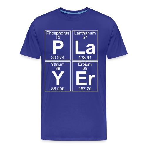 P-La-Y-Er (player) - Full - Men's Premium T-Shirt