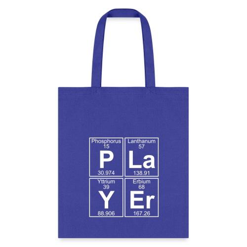 P-La-Y-Er (player) - Full - Tote Bag