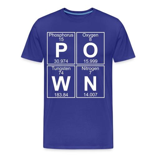 P-O-W-N (pown) - Full - Men's Premium T-Shirt