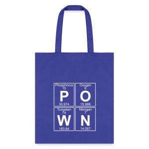 P-O-W-N (pown) - Full - Tote Bag