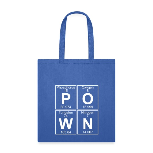 P-O-W-N (pown) - Full - Tote Bag