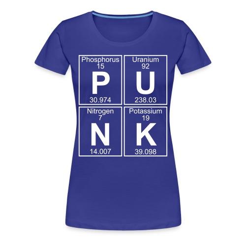 P-U-N-K (punk) - Full - Women's Premium T-Shirt