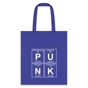 P-U-N-K (punk) - Full - Tote Bag