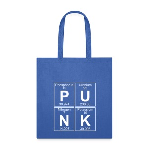 P-U-N-K (punk) - Full - Tote Bag