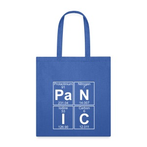 Pa-N-I-C (panic) - Full - Tote Bag