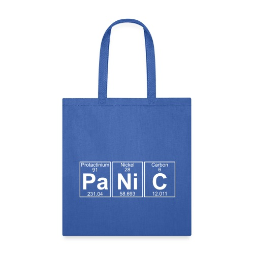 Pa-Ni-C (panic) - Full - Tote Bag