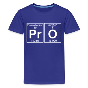 Pr-O (pro) - Full - Kids' Premium T-Shirt