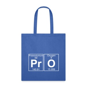 Pr-O (pro) - Full - Tote Bag