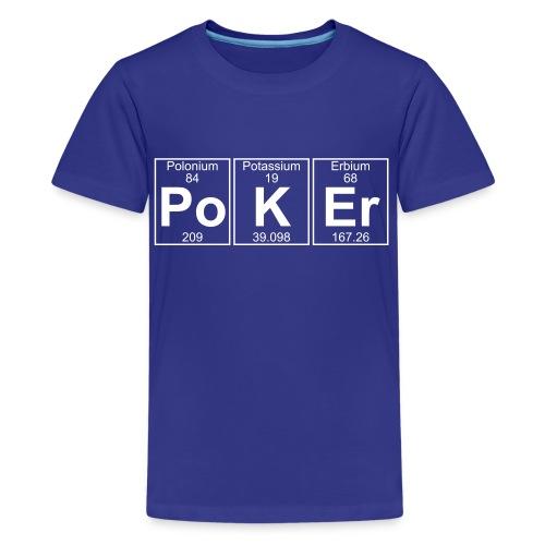 Po-K-Er (poker) - Full - Kids' Premium T-Shirt