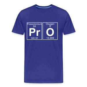 Pr-O (pro) - Full - Men's Premium T-Shirt