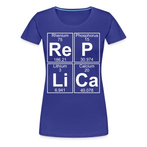 Re-P-Li-Ca (replica) - Full - Women's Premium T-Shirt