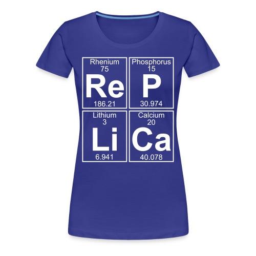 Re-P-Li-Ca (replica) - Full - Women's Premium T-Shirt