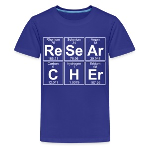 Re-Se-Ar-C-H-Er (researcher) - Full - Kids' Premium T-Shirt