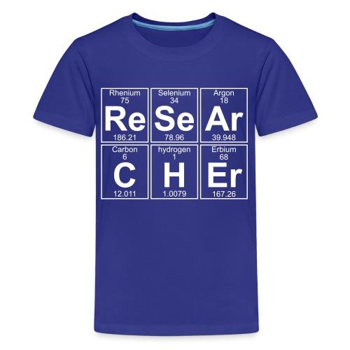 Re-Se-Ar-C-H-Er (researcher) - Full - Kids' Premium T-Shirt
