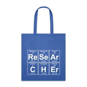 Re-Se-Ar-C-H-Er (researcher) - Full - Tote Bag