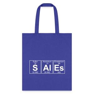 S-Al-Es (sales) - Full - Tote Bag