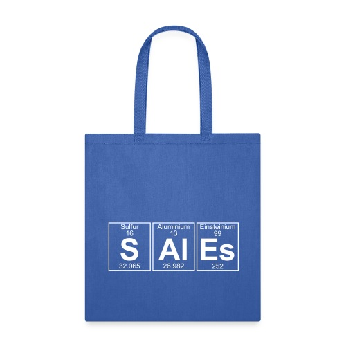 S-Al-Es (sales) - Full - Tote Bag