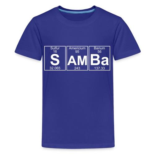 S-Am-Ba (samba) - Full - Kids' Premium T-Shirt