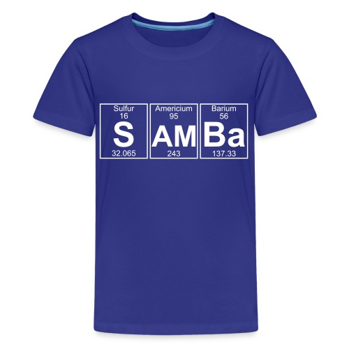 S-Am-Ba (samba) - Full - Kids' Premium T-Shirt