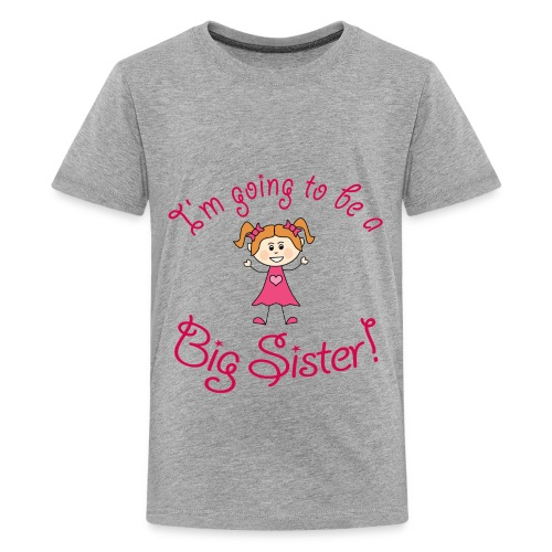 Future BigSister Kids Tee - Kids' Premium T-Shirt