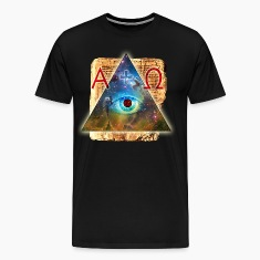 All-seeing Eye of God magic triangle Bible Alpha O