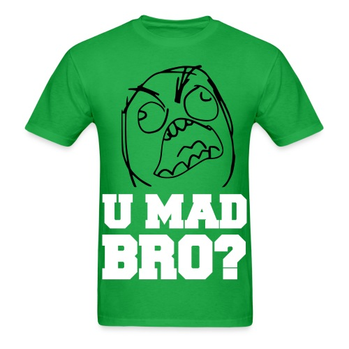 YOU MAD BRO? (Guys) - Men's T-Shirt