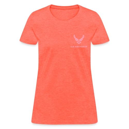 Woman's Air Force Tee - Women's T-Shirt